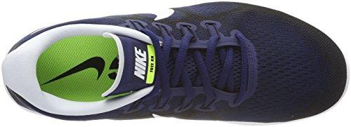 Nike Free Rn 2017 880839 405 Blu / Bianco Taglia 7.5