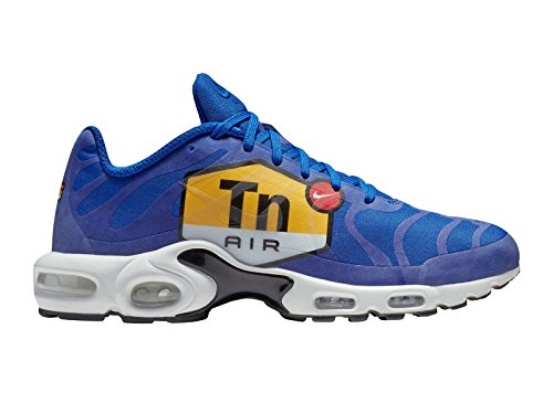 Nike Heren Air Max Plus Ns Gpx Sp Nylon Loopschoenen Hyper Blauw / Zwart / Wit