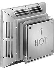Simpson Dura-Vent Duravent Pro Square Horizontal Termination Cap, 5x8, Aluminum