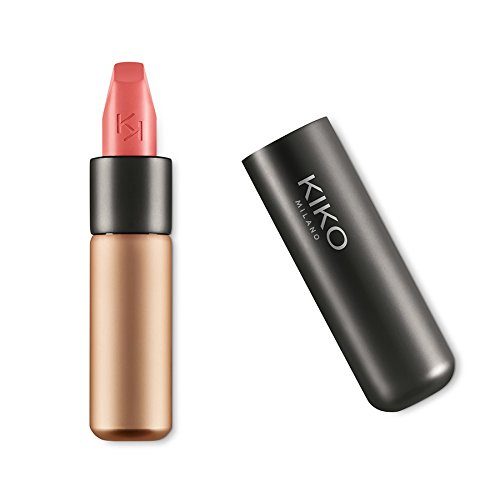 KIKO MILANO - Velvet Passion Matte Lipstick Creamy Matte Lip Stick| Long Lasting Lipstick| Color Rose 303 | Av. in 5 Colors | Professional Makeup Lipstick | Made in Italy