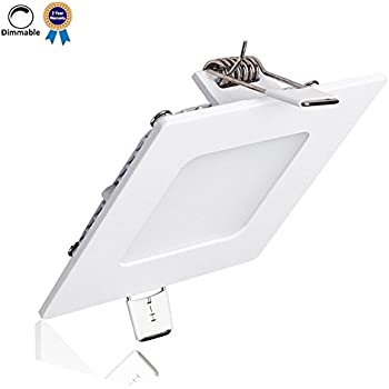 Halo H1T Square Housing White Recessed Light Fixture Housings
