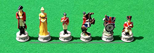 Italfama Waterloo Chess Pieces – Resin, Hand-Painted