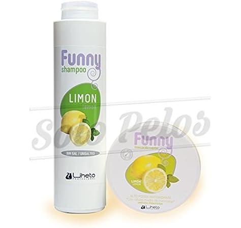 LIHETO Pack Funny champu + mascarilla Limon: Amazon.es: Belleza