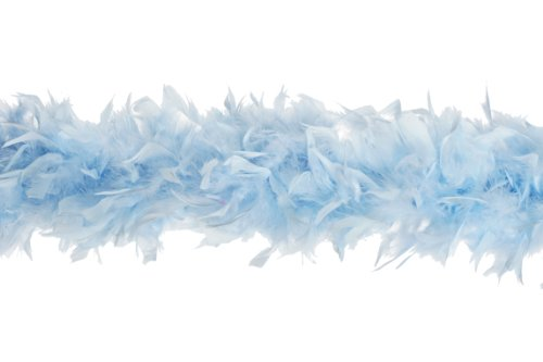 (Zucker Feather Products Heavy Weight Decorative Chandelle Boa, Light)
