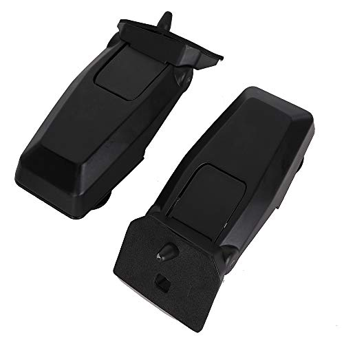 Rear Window Hinge Liftgate Glass Hinge Set Right Left Pair for 2008-2012 Jeep Liberty Replace # 57010061AB 57010060AB