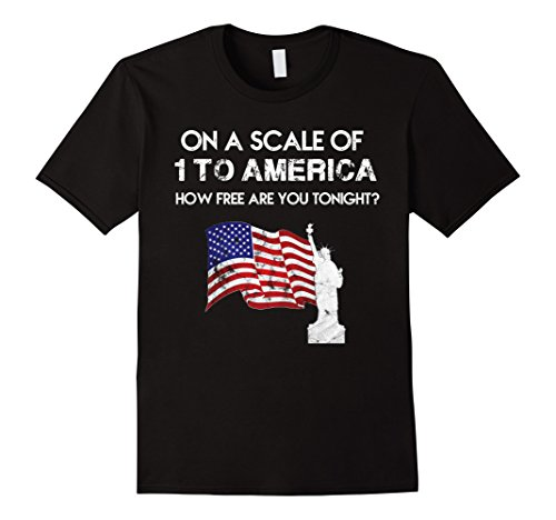 on a scale of 1 to america - 6