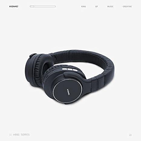 KOMC B101 4 1 Bluetooth Headphone (Black): Amazon in
