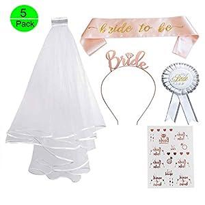 Bride to Be ROSETTE or Rose Femmes Enterrement Vie Jeune Fille Soirée Accessoire Accessoire
