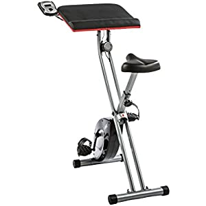 Ultrasport Heimtrainer F-Bike Work, Rot/Schwarz/Silber, One Size, 331400000232