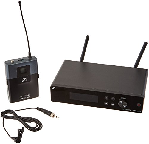 Sennheiser XSW 2-ME2-A Wireless Lavalier Microphone (Rackmount Six Channel)