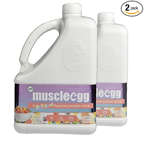 a54b9b49171b Amazon.com  MuscleEgg Fruit Cereal Liquid Egg Whites Protein - 2 Gallons   Health   Personal Care