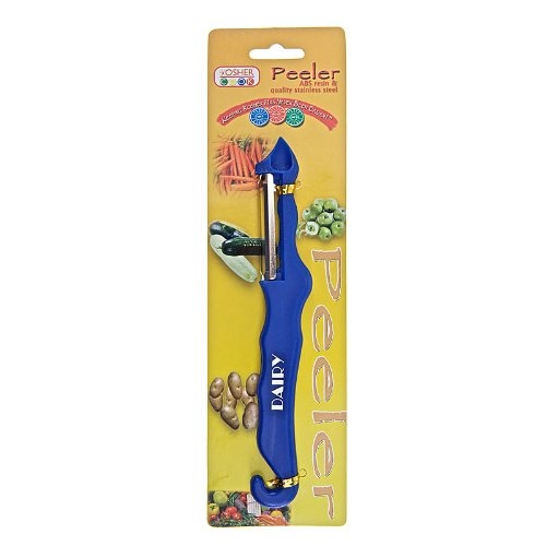 The Kosher Cook KCKH3015D Vegetable Peeler, Blue/Dairy, 1-Piece