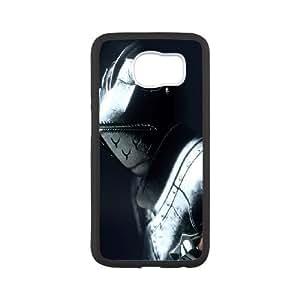 Profundo caja del teléfono celular de Down 2 Samsung Galaxy S6 funda Negro caja del teléfono celular Funda Cubierta EEECBCAAB06877