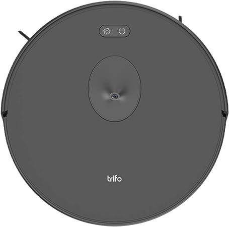 TRIFO Ironpie M6 - Aspirador Robot con Navegación Visual y Cámara, Monitoreo Remoto, Wi-Fi, Recarga Automática, Adecuado para Pisos Duros y Alfombras, Potencia de Succión de 1800 Pa - Negro: Amazon.es: Hogar