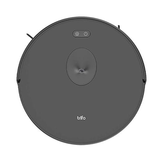 TRIFO Robot Aspirador Ironpie m6 Potente e inalámbrico con navegación por cámara, aplicación de Control Manual y Carga automática – Negro