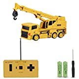 JoyGeek RC Truck Crane, Remote Control Toy Car Mini Construction Vehicle 1:64 Kids Gift