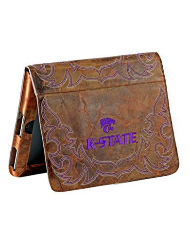 Gameday Boots NCAA Kansas State Wildcats Kst-IP042Kansas State University iPad 2 Cover, Brass, One Size by Gameday Boots