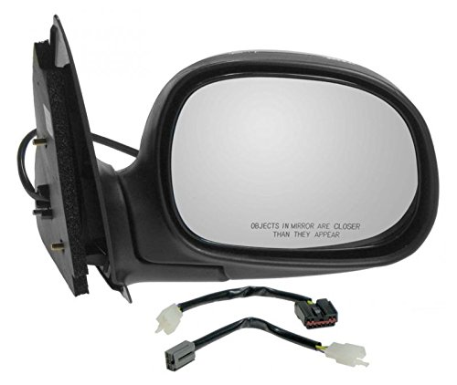 Power Side View Mirror Chrome & Black Passenger Right RH for Ford F150 Truck
