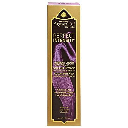 One 'n Only Perfect Intensity Pastel Lilac Semi Permanent Hair Color Pastel Lilac by one 'n only