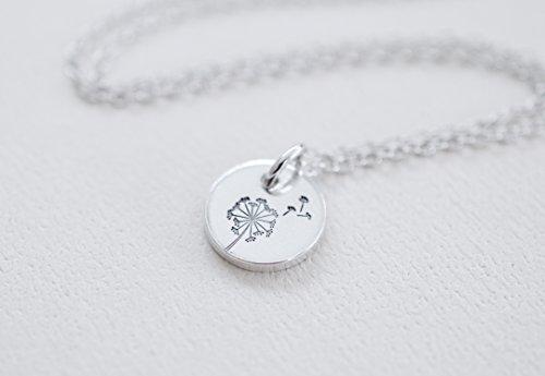Whimsical Unisex Jewelry (Dandelion Necklace)