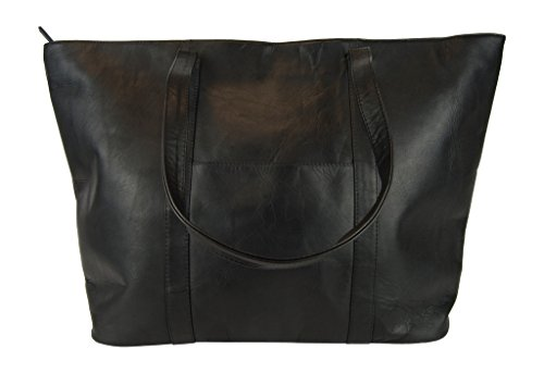 Latico Basics Oversize Tote,Black, by Latico