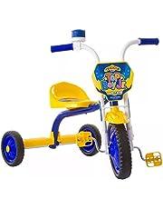 Triciclo Ultra Bike Top Boy Jr Azul/Amarelo