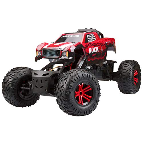 Rock Climber Radio Control Powerful 4-wheel Drive Off-Road Crawling Vehicle Truck 2.4Ghz Huge size 28″x16″