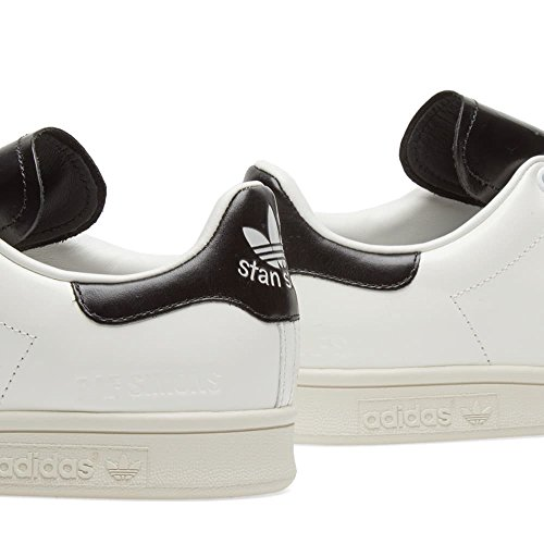 Sneakers Adidas Di Raf Simons Stan Smith In Pelle Bianca E Nera