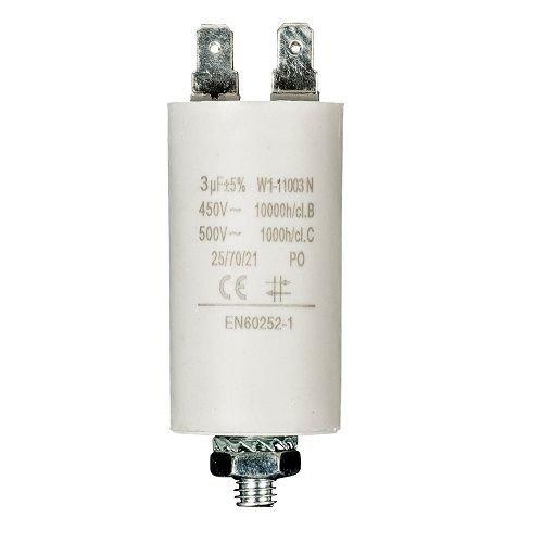 cablepelado condensatore di avviamento per motore elettrico 3,0/uF 450/Vac