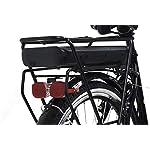Discovery-E4000-Bicicletta-a-pedalata-assisita-City-Bike-con-Ruote-da-26-Cambio-Shimano-6-velocita-Donna-Nero