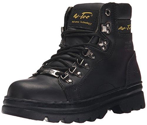 Adtec Women's 6'' Steel Toe Work Work Boot, Black, 6.5 M US by Adtec