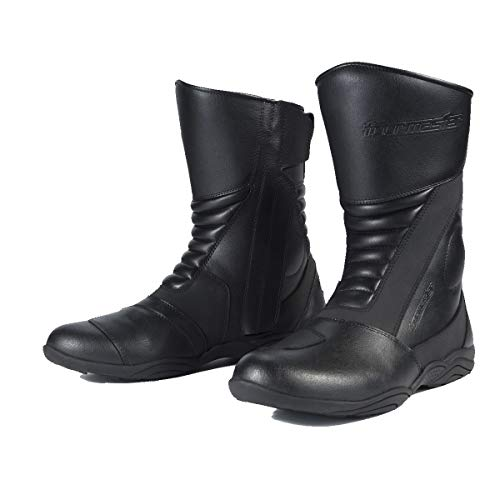 TourMaster Solution 2.0 Men's Cold-Weather WP Road Boots (Black, Size 12)