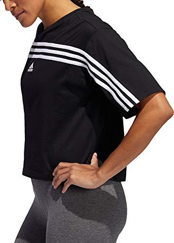 adidas Women's Must Haves Ringer 3-Stipes T-Shirt 3