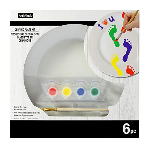 DIY Ceramic Plate Painting Kit by ArtMinds