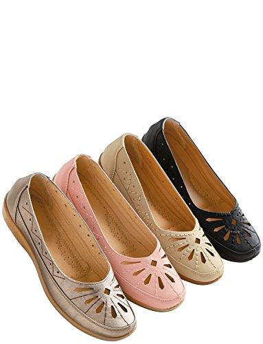 Chums Ladies On Comfort Slip Shoe Pink rrAq87