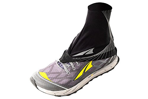 Altra Trail Gaiter Protective Shoe Covers, Black, S Regular US