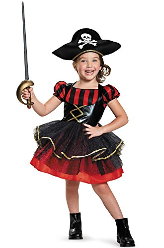 Precocious Pirate Costume, (Party City Girl Pirate Costume)