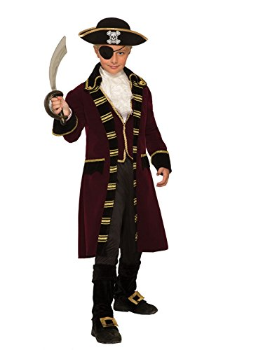 Forum Novelties Buccaneer Captain Child's Designer Costume, Small -