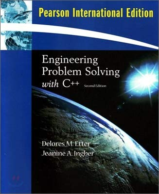 Engineering Problem Solving with C++ (2nd Edition)