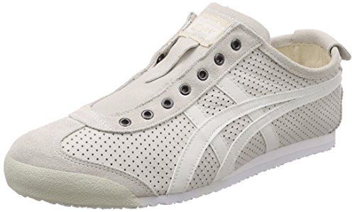 Asics Unisex Adults' Mexico 66 Slip-on Trainers White (White/White 0101) teFSM
