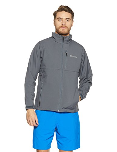 Columbia Men's Ascender Softshell Jacket, Graphite, Small