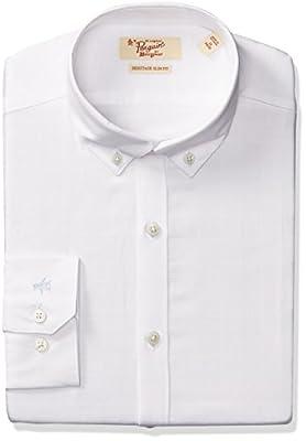 Original Penguin Men's Slim Fit Stretch Glen Plaid Dress Shirt
