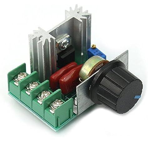 Tenflyer Nuevo regulador de voltaje ajustable PWM motor de CA de ...