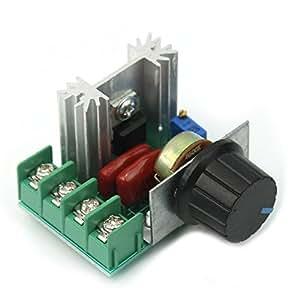 Tenflyer Nuevo regulador de voltaje ajustable PWM motor de
