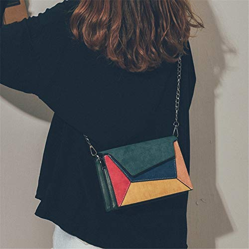 Wilde Modieuze Handtas Bag Kong Retro Outdoor Kleur Hong Dames Small Square Combineer Lidoudou Style Messenger wSqFIUxT5F