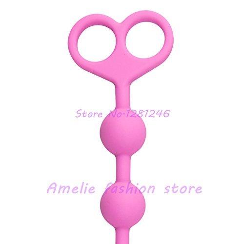 DACHUI Silicona suave cordones Anal Unisex Anal tamaño Sex Toys Butt plug anal rosa de gran tamaño Anal bola Juguetes Anales para hombres y mujeres sexo Productos ddbdd5
