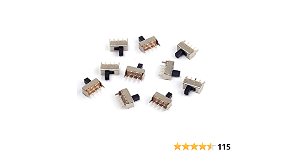 35x Dip Switch Kit 1 2 3 4 5 6 8 Way Toggle Switch Red Snap Switches Each CPUK