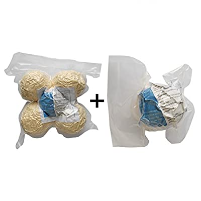 LOVE MY - 100% Premium Organic Felt Wool Dryer Balls - SOLID - No Fillers like Cheaper Brands, Four Extra-large Premium Quality By Heart Felt ~ Save Time and Money ~ Naturally Soften Laundry ~ Eliminate Static ~ Eco-friendly Materials and Design ~ Perfect