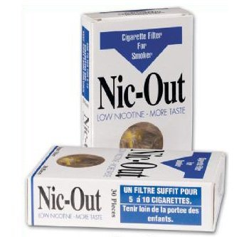 Nic-Out Cigarette Filters For Smokers-40 Packs Wholesale Personal Healthcare / Health Care by HealthCare (Image #1)