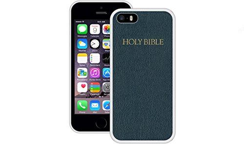 Bibel | Handgefertigt | iPhone 5 5s SE | Weiß TPU Hülle
